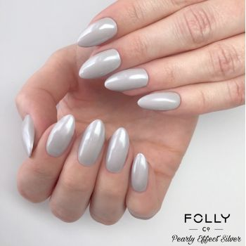 Folly Effect - Pearly Silver, 1g